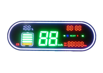 Electric Bicycle LED Display Components , LED Display Panel NO M033-4 High Reliability