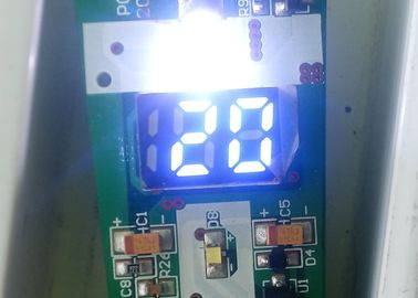 Energy Saving LED Segment Display 3VDC Single Power Supply 4.05mm Thickness