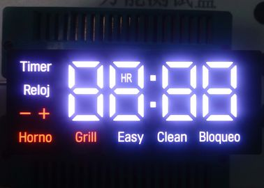 NO M027M Household Appliances LED Clock Display 20000~100000 Hours Life Span